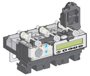 کليد اتوماتیک اشنایدر الکتریک سه پل 100 آمپر ظرفیت قطع 36KA